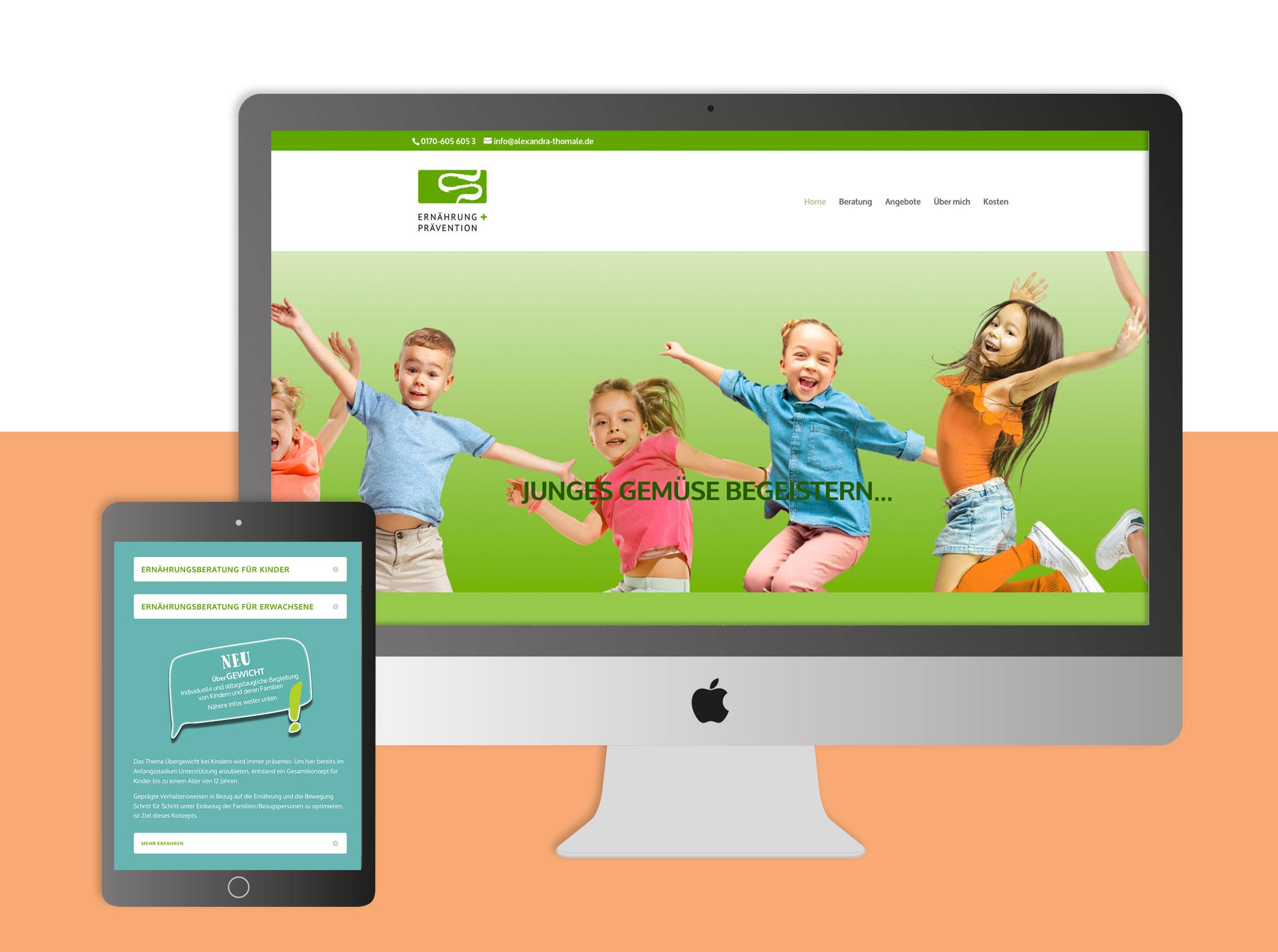 gestaltung einer website